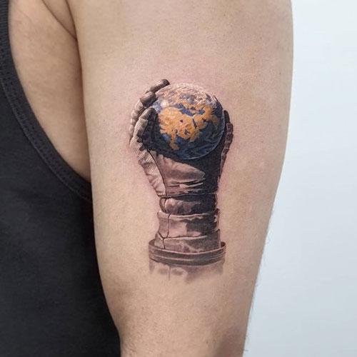 tatuaje de la tierra