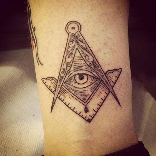 tatuaje de masones