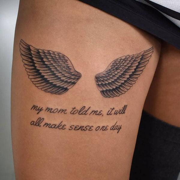 tatuaje en las piernas