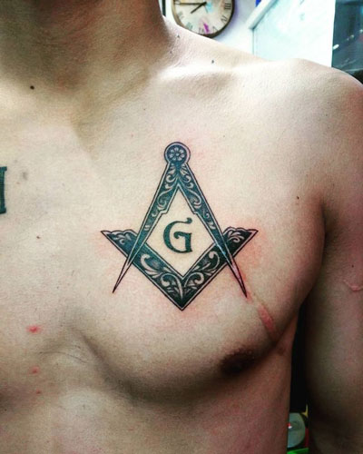tatuaje masoneria