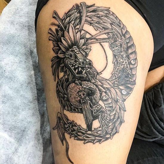 Tatuajes de Quetzalcoatl
