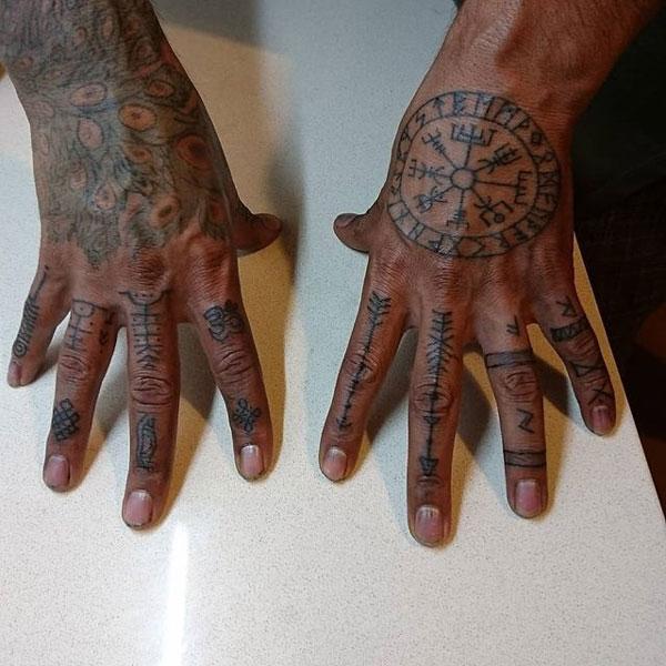 tatuajes de dedos