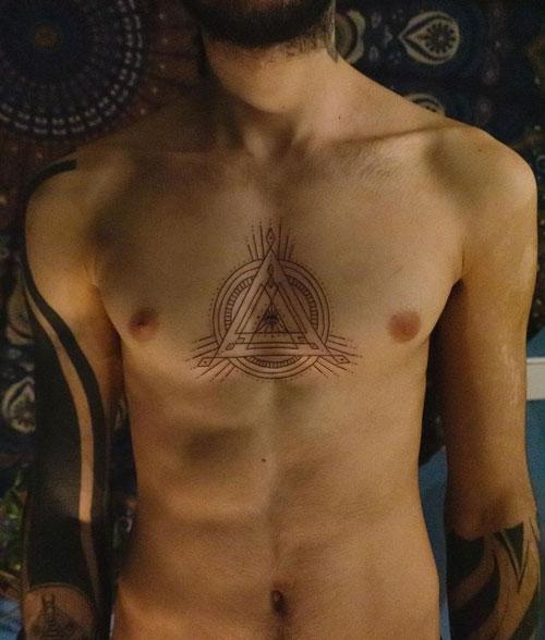 tatuajes del 3er Ojo de dios