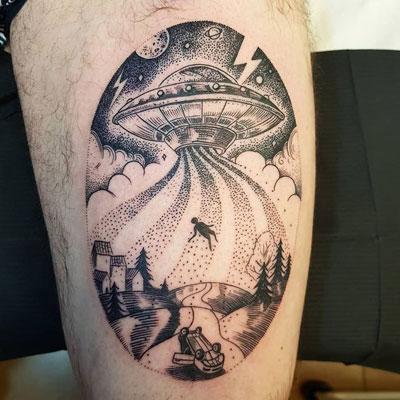 Abducción tatuaje