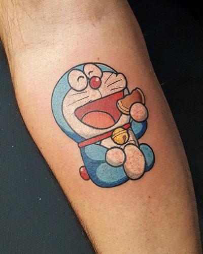 Doraemon tatuaje