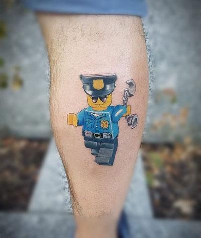 Tatuajes de Lego