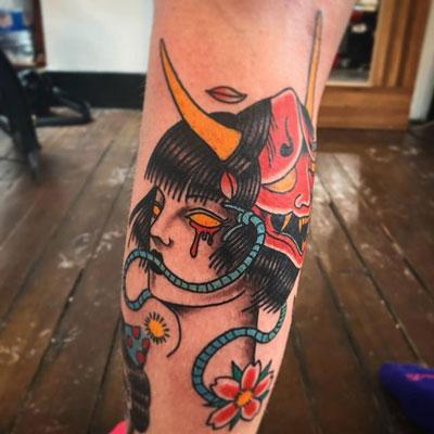 Tatuaje Oni Mascara