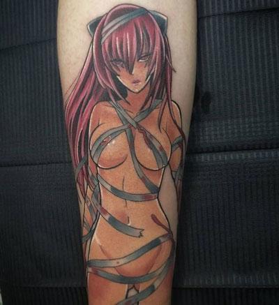 hentai tatuaje