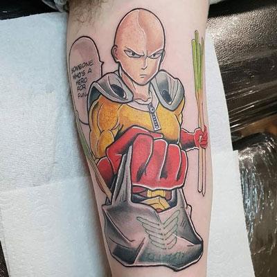 one push man tatuaje