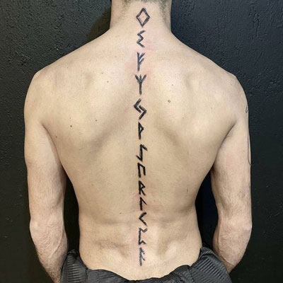 runes tatuajes