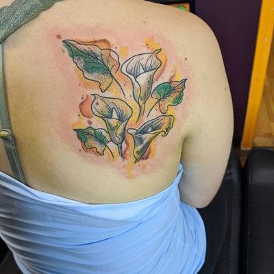 tattoo a color de alcatraz