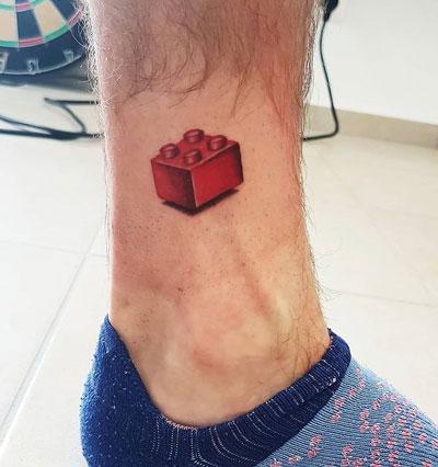 tattoo bloque lego