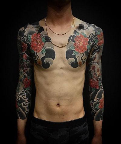 tattoo de crisantemos