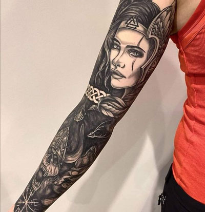 tattoo freya