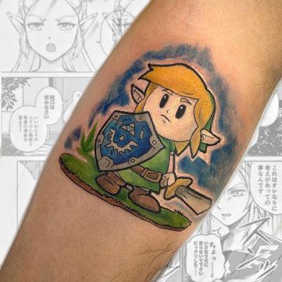 tattoo ilustracion zelda