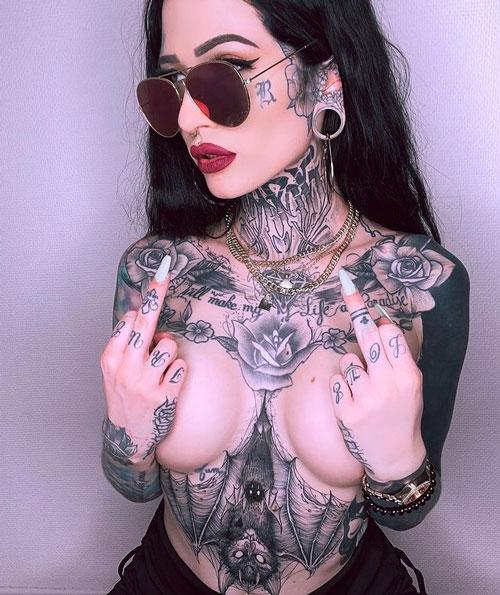 tattoo murcielago