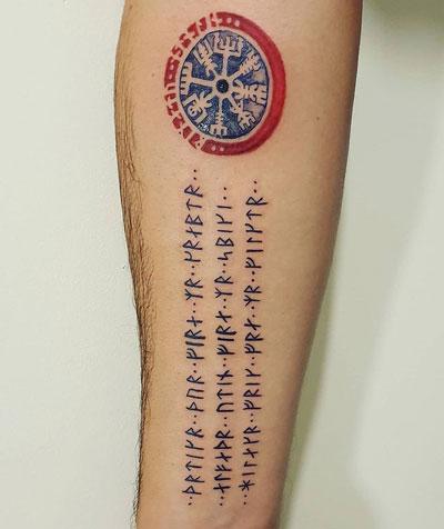 tattoo vikingo runas