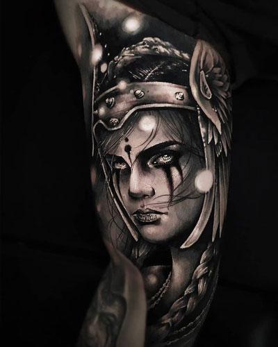 tatuaje de frigg