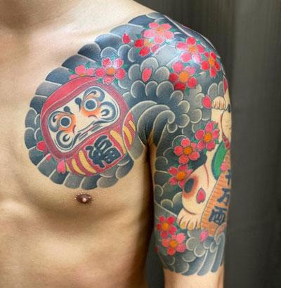 tatuaje de la suerte