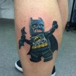 tatuaje de lego batman