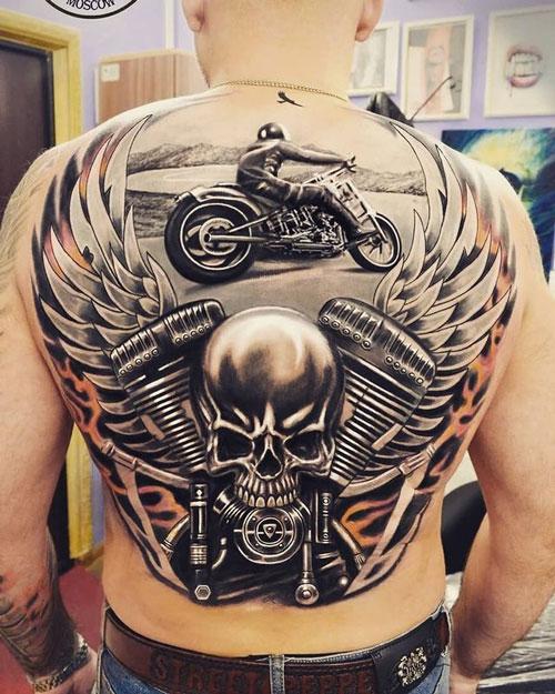 Tatuajes para Motociclistas