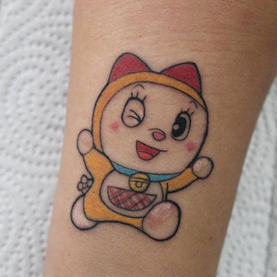 tatuaje manga color
