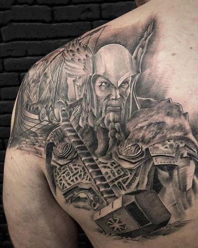 thor tatuaje