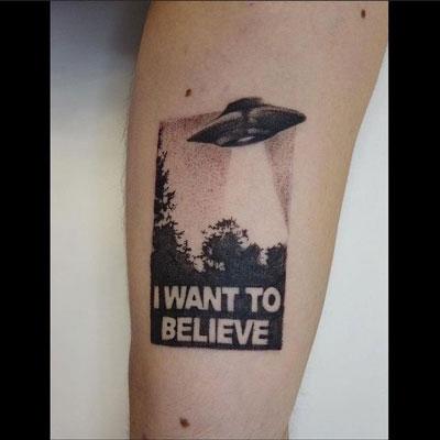 x file tattoo