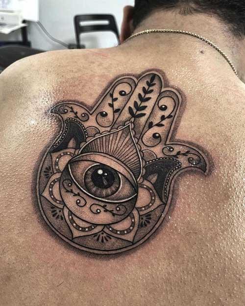 Tatuaje mano de jamsa