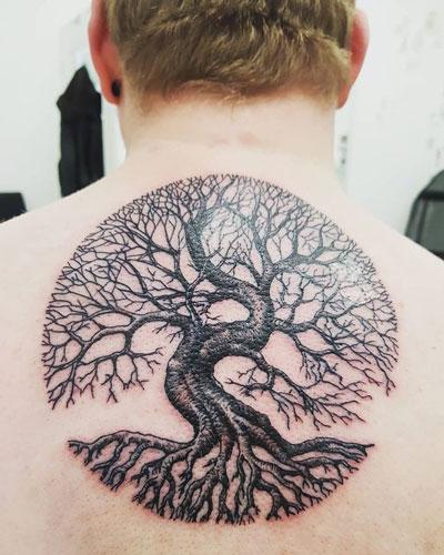 arbol tattoo
