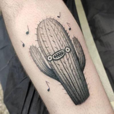 cactu cantando tattoo
