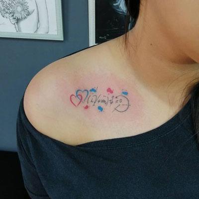 dirac tattoo