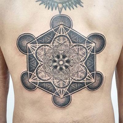 metatron tattoo