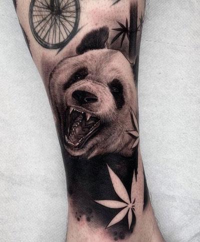 panda tatuaje
