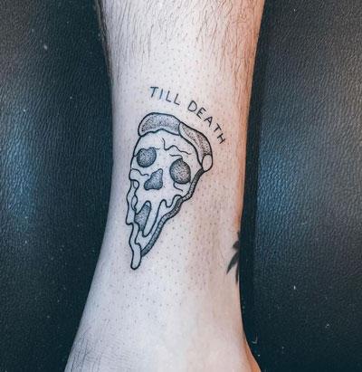 pizza tatuaje