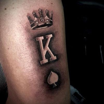 rey de espadas tatuaje