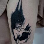 Tatuaje de una Bruja