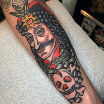tattoo color de dracula