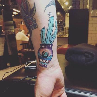 tattoo de Cactus