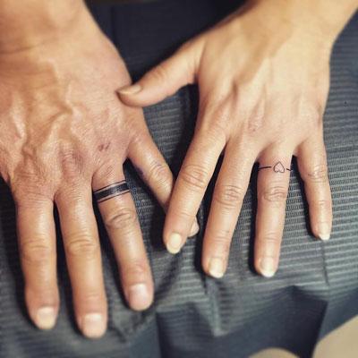 tattoo de anillos