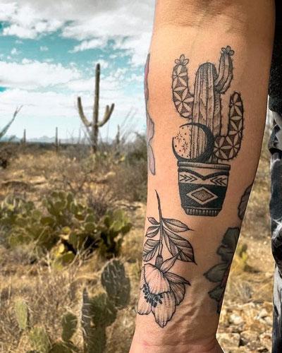 tattoo de desierto