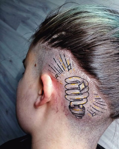 tattoo foco de luz