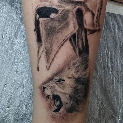 tattoo gladiador