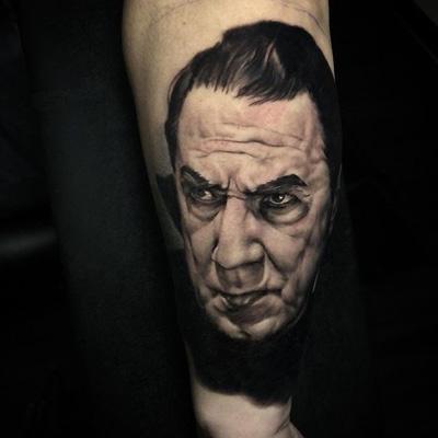 tattoo pelicula dracula