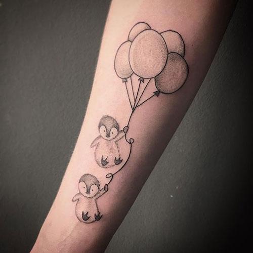 tattoo pinguinos