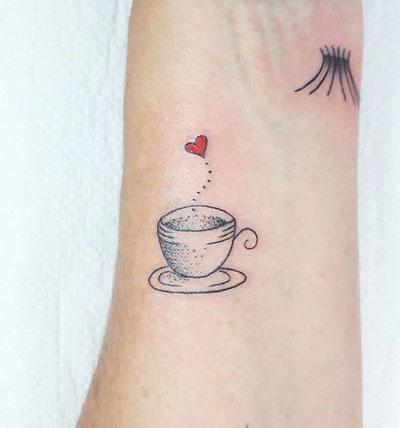 tatuaje de cafe