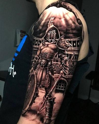 Tatuajes de Gladiadores