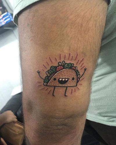 Tatuaje de Taco