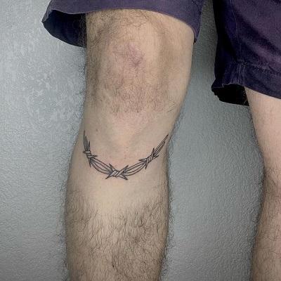 tatuaje en rodillas