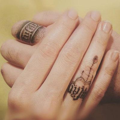 tatuaje matrimonio